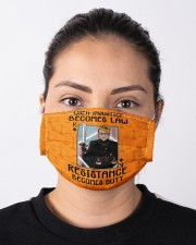 RBG when injustice K card Cloth face mask aos-face-mask-lifestyle-01