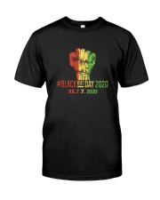 Black Out Day Classic T-Shirt front