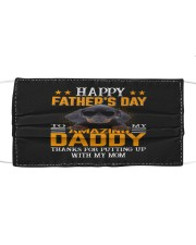 dachshund Happy father's day to Amazing Cloth face mask thumbnail