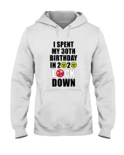 30th Lock Down Hooded Sweatshirt thumbnail