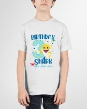 3 Blue Birthday Shark Youth T-Shirt garment-youth-tshirt-front-01