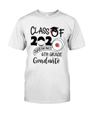 4th grade  Quarantined Graduate Classic T-Shirt thumbnail
