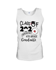 4th grade  Quarantined Graduate Unisex Tank tile