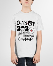 4th grade  Quarantined Graduate Youth T-Shirt garment-youth-tshirt-front-01