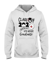 4th grade  Quarantined Graduate Hooded Sweatshirt tile
