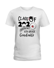 4th grade  Quarantined Graduate Ladies T-Shirt tile