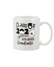 4th grade  Quarantined Graduate Mug tile