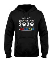33rd Birthday 2020 color Hooded Sweatshirt thumbnail