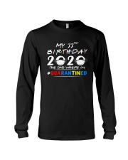 33rd Birthday 2020 color Long Sleeve Tee thumbnail