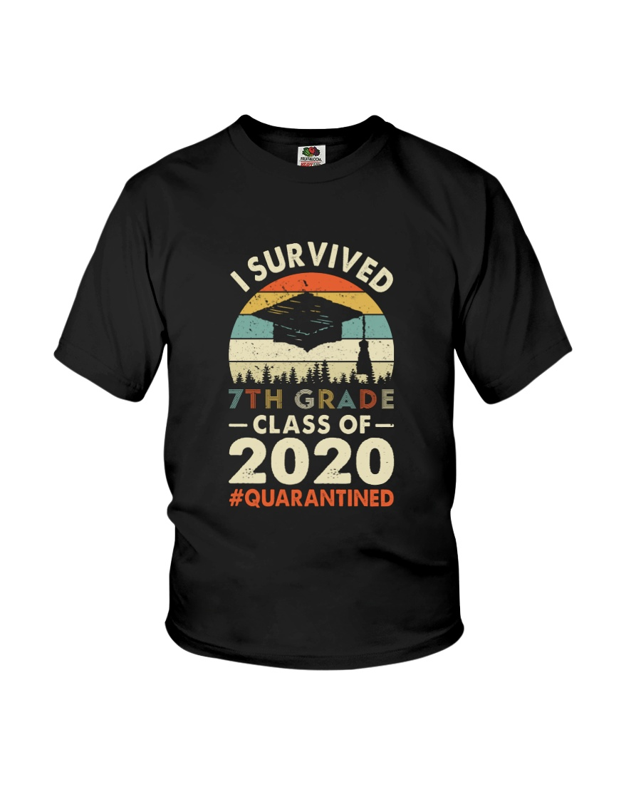 7th grade Vintage I Survived Youth T-Shirt