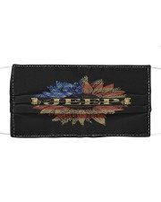 Jeep Sunflower July Fourth Cloth face mask thumbnail