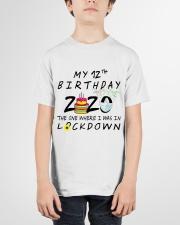12th Birthday cake Youth T-Shirt garment-youth-tshirt-front-01