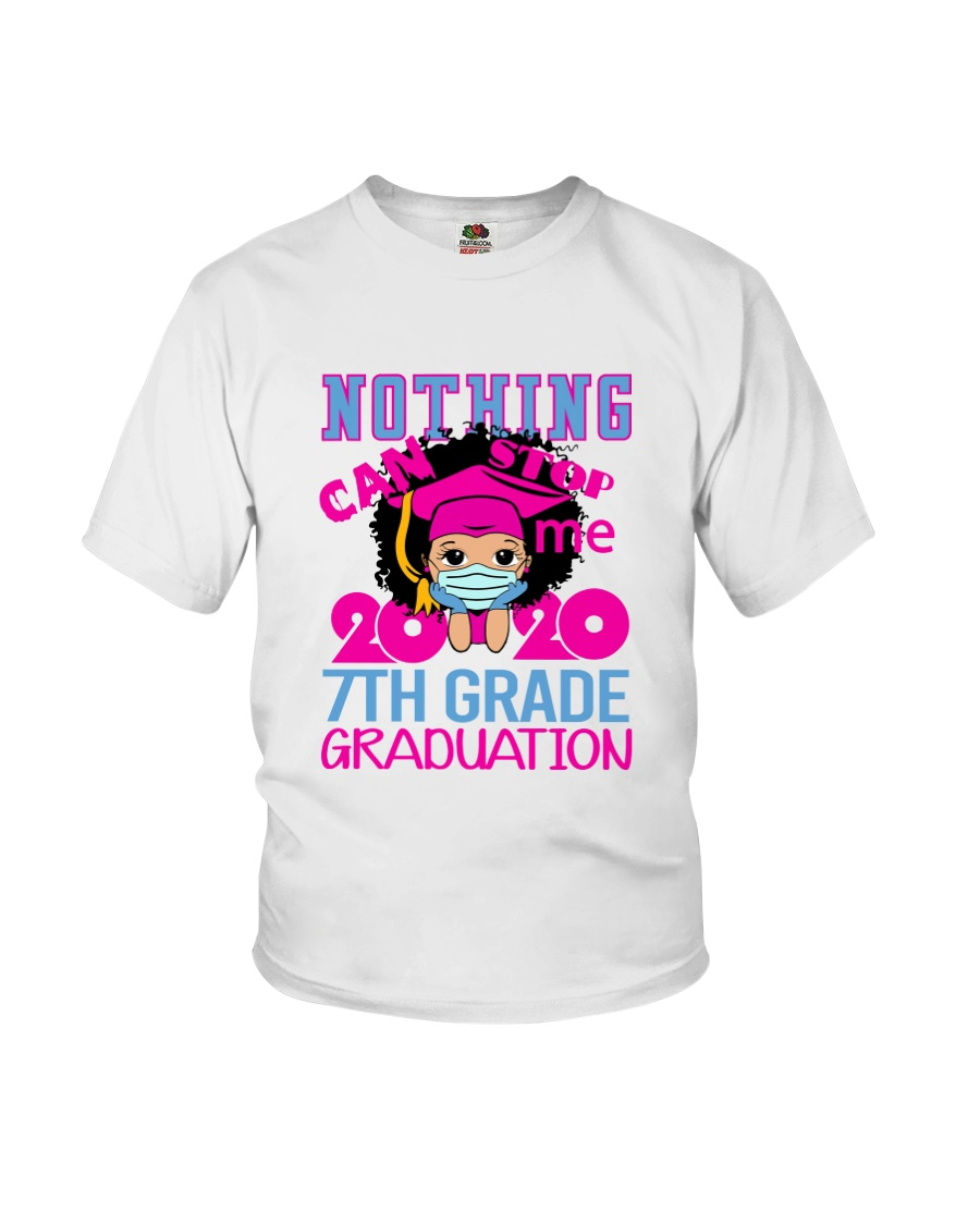 Girl 7th grade Nothing Stop Youth T-Shirt