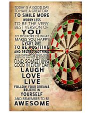 Darts Today Is A Good Day Poster 11x17 Poster front