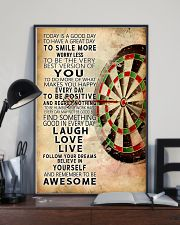 Darts Today Is A Good Day Poster 11x17 Poster lifestyle-poster-2