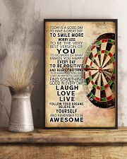 Darts Today Is A Good Day Poster 11x17 Poster lifestyle-poster-3
