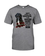 Cockapoo Dog American amazing dad Classic T-Shirt tile