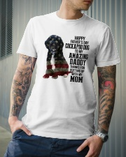 Cockapoo Dog American amazing dad Classic T-Shirt lifestyle-mens-crewneck-front-6
