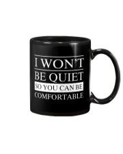 I won't be quiet Mug thumbnail