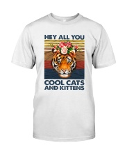 Cool Cats And Kittens Classic T-Shirt thumbnail