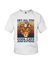 Cool Cats And Kittens Youth T-Shirt thumbnail