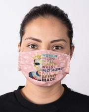 RBG women belong pattern Cloth face mask aos-face-mask-lifestyle-01