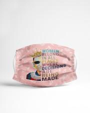 RBG women belong pattern Cloth face mask aos-face-mask-lifestyle-22