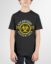 6th Birthday Quanrantined Youth T-Shirt garment-youth-tshirt-front-01