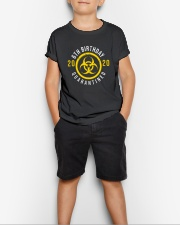 6th Birthday Quanrantined Youth T-Shirt lifestyle-youth-tshirt-front-1