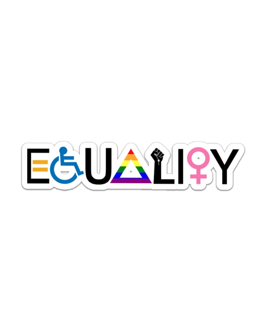 Equality sticker Sticker - Single (Horizontal)