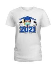 White Boy Junior Future grad Ladies T-Shirt thumbnail