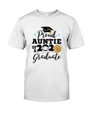 auntie Proud Graduate Classic T-Shirt front