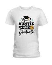 auntie Proud Graduate Ladies T-Shirt thumbnail