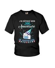 20 French Spent Birthday Youth T-Shirt thumbnail