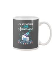 20 French Spent Birthday Mug thumbnail
