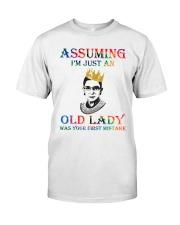 RBG assuming Classic T-Shirt thumbnail