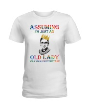 RBG assuming Ladies T-Shirt thumbnail