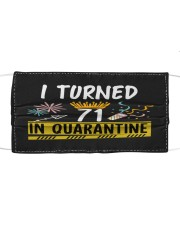 71 I turned in quarantine Cloth face mask thumbnail