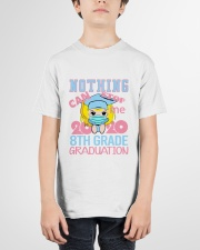 Blonde girl 8th grade Nothing Stop Youth T-Shirt garment-youth-tshirt-front-01