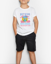 Blonde girl 8th grade Nothing Stop Youth T-Shirt lifestyle-youth-tshirt-front-1
