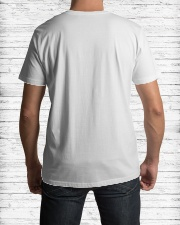 dad stepped up Classic T-Shirt lifestyle-mens-crewneck-back-1