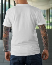 dad stepped up Classic T-Shirt lifestyle-mens-crewneck-back-3