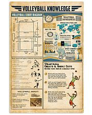 Volleyball knowledge 11x17 Poster front