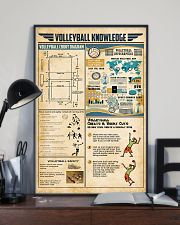 Volleyball knowledge 11x17 Poster lifestyle-poster-2
