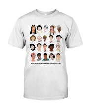 Well behaved woman Classic T-Shirt thumbnail