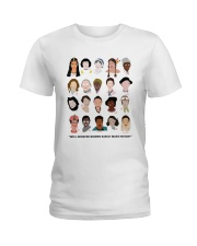 Well behaved woman Ladies T-Shirt thumbnail