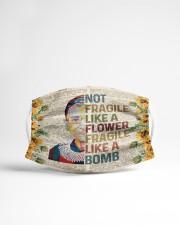 RBG not fragile sunflower Cloth face mask aos-face-mask-lifestyle-22