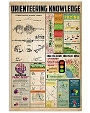 Orienteering knowledge 11x17 Poster front