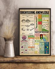 Orienteering knowledge 11x17 Poster lifestyle-poster-3