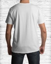 5th Anniversary quarantined Classic T-Shirt lifestyle-mens-crewneck-back-1